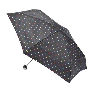 My polka dot umbrella from Target (Thanks, mom!)